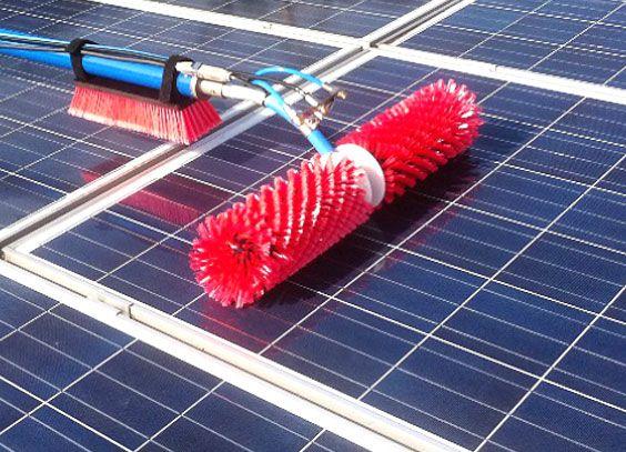 Abbildung von Photovoltaikanlagen