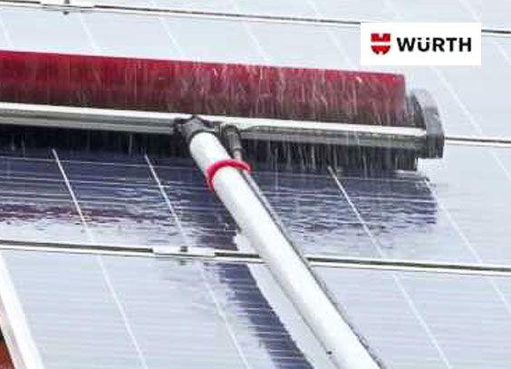 Professionelle Anbringung von Solarzellen