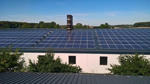 Photovoltaikanlage auf landwirtschaftl. Betrieb in Wewer