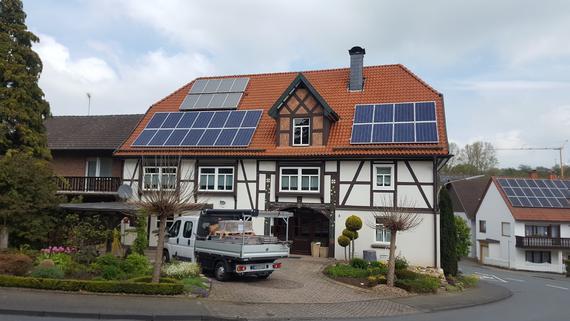 Photovoltaikanlage mit Aura Speicher in Dahl