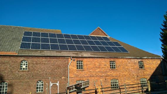 Photovoltaikanlage mit Aura Speicher in Soest