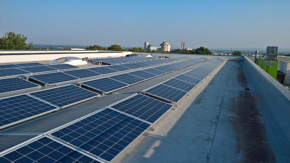 Photovoltaikanlage für Gewerbe in Paderborn