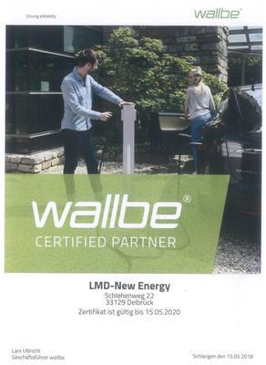 Zertifikat wallbe