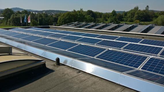 Photovoltaikanlage für Gewerbe in Arnsberg