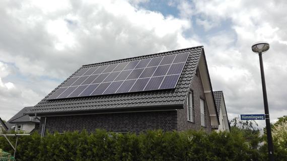 Photovoltaikanlage mit Aura Speicher in Gütersloh