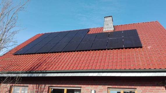 Photovoltaikanlage in Langenberg