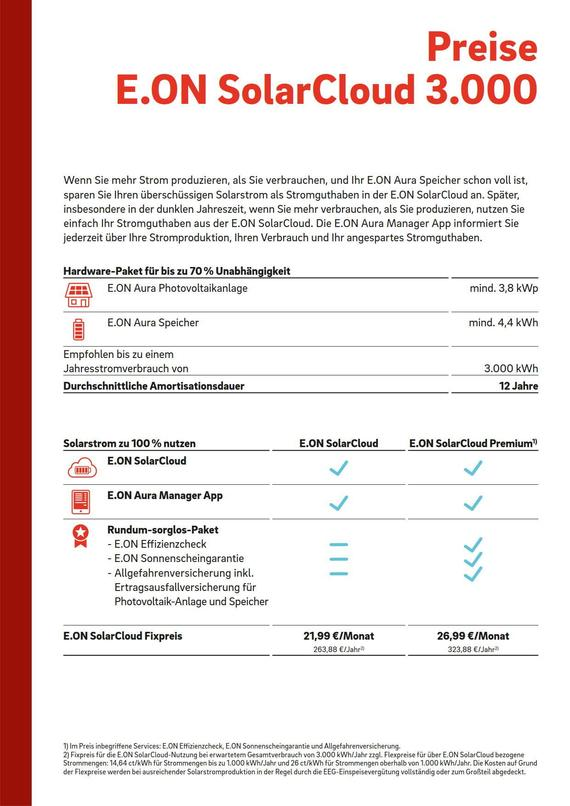 Datenblatt SolarCloud 3000